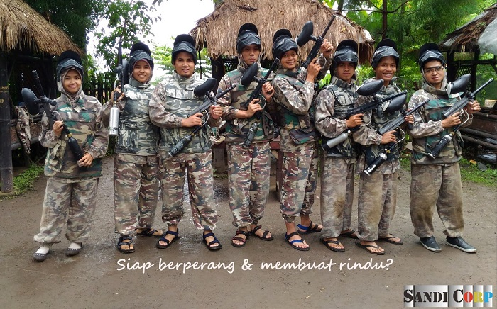 paint ball Kota Batu