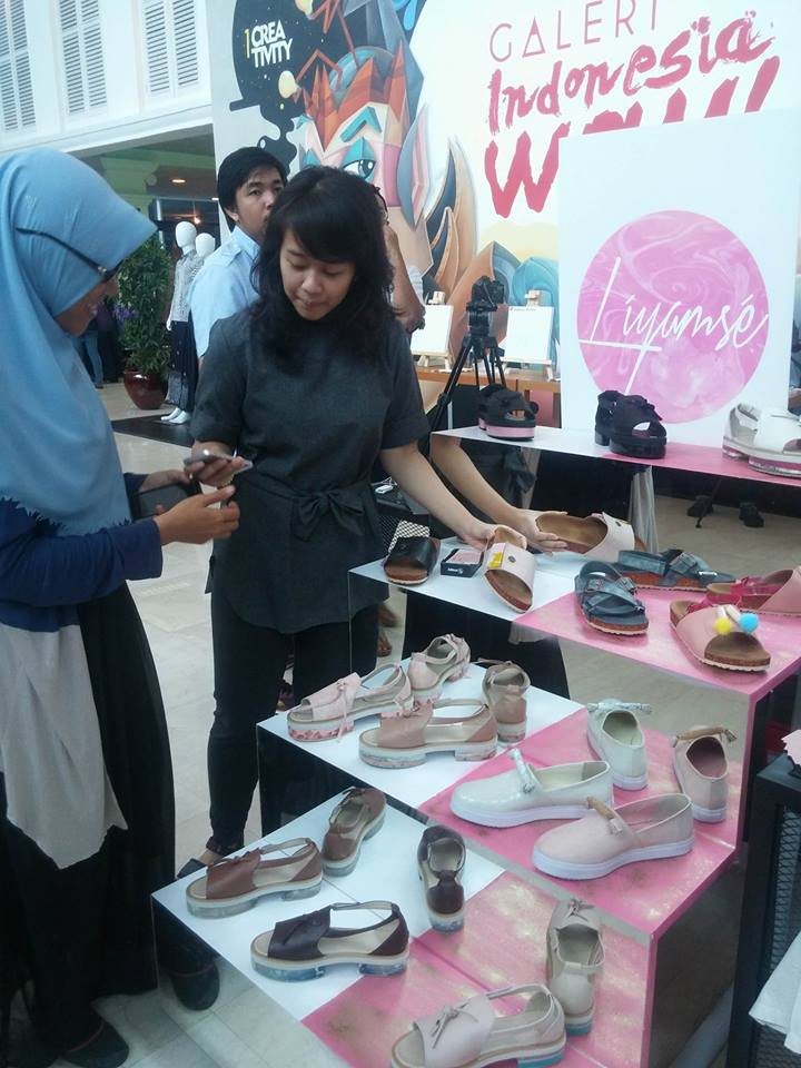 marketeers creativity day, sepatu