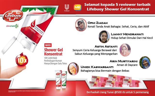 pemenang review lifebuoy shower gel konsentrat