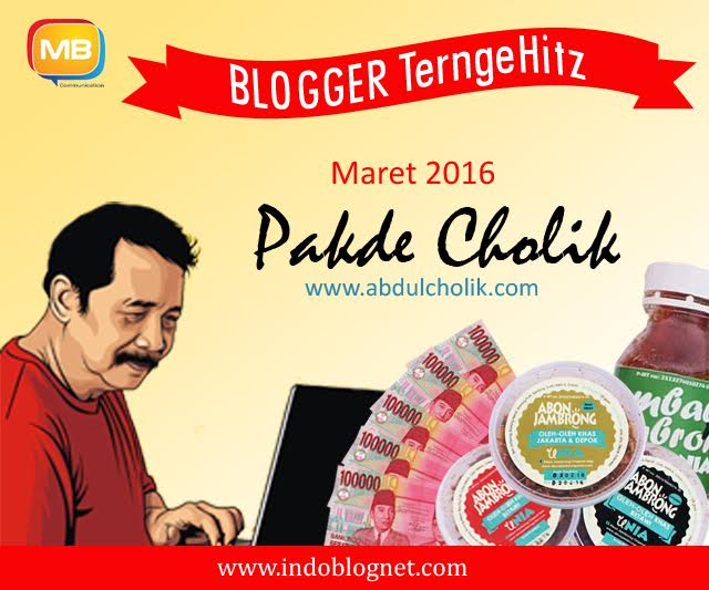 blogger of the month indoblognet