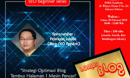 strategi optimasi blog seo learning camp indoblognet